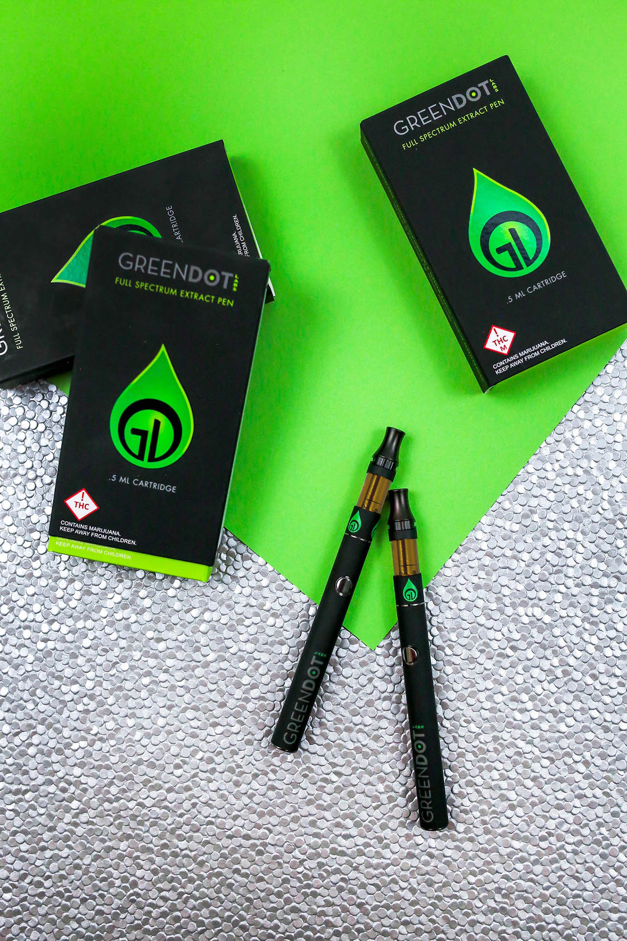 Bring Green Dot Labs fine cannabis extracts with you anywhere in the state of Colorado!